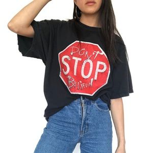 "Vtg Journey ""Don't Stop Believin"" Concert T-Shirt"